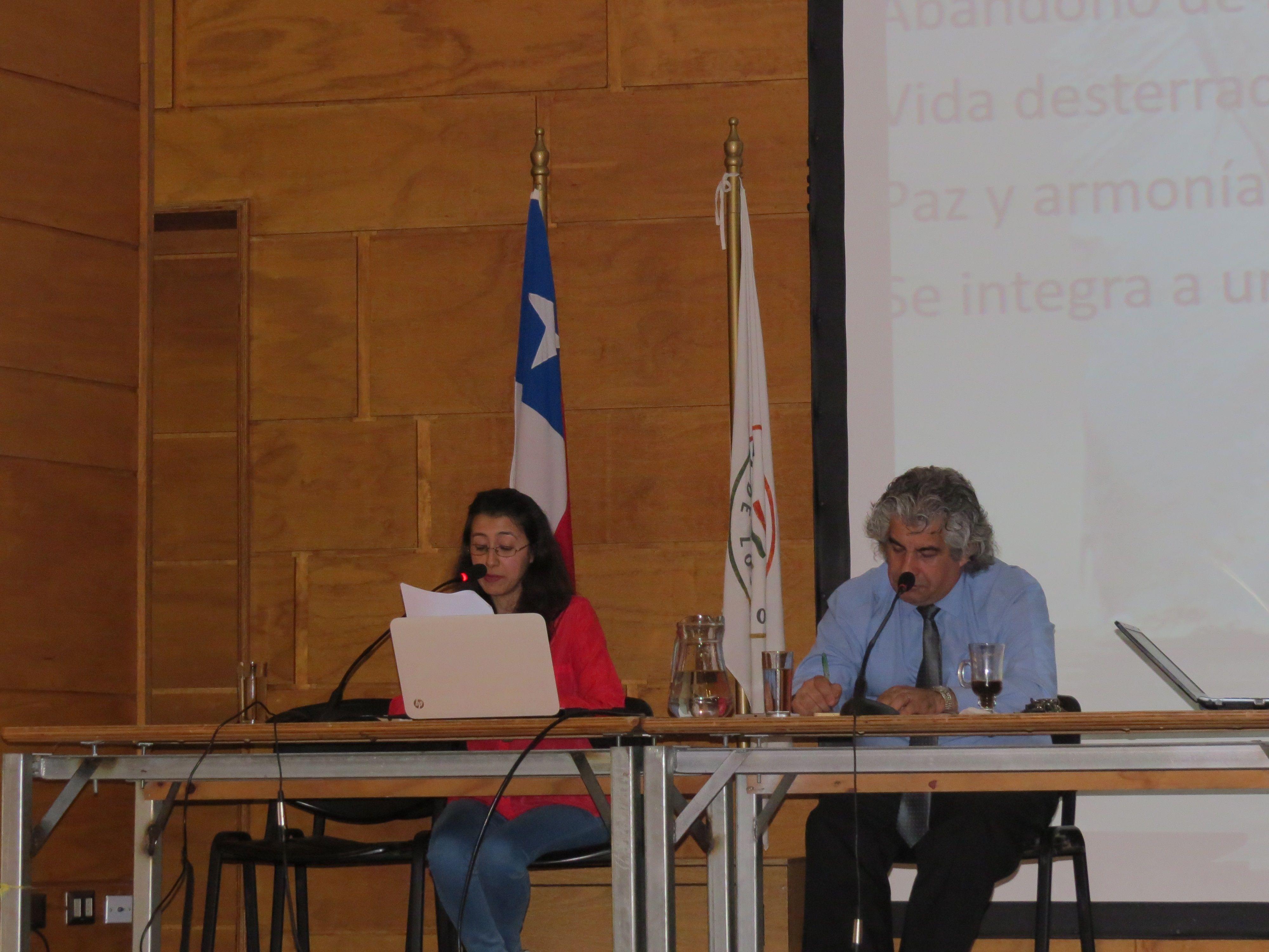 Expositora Helen Arias