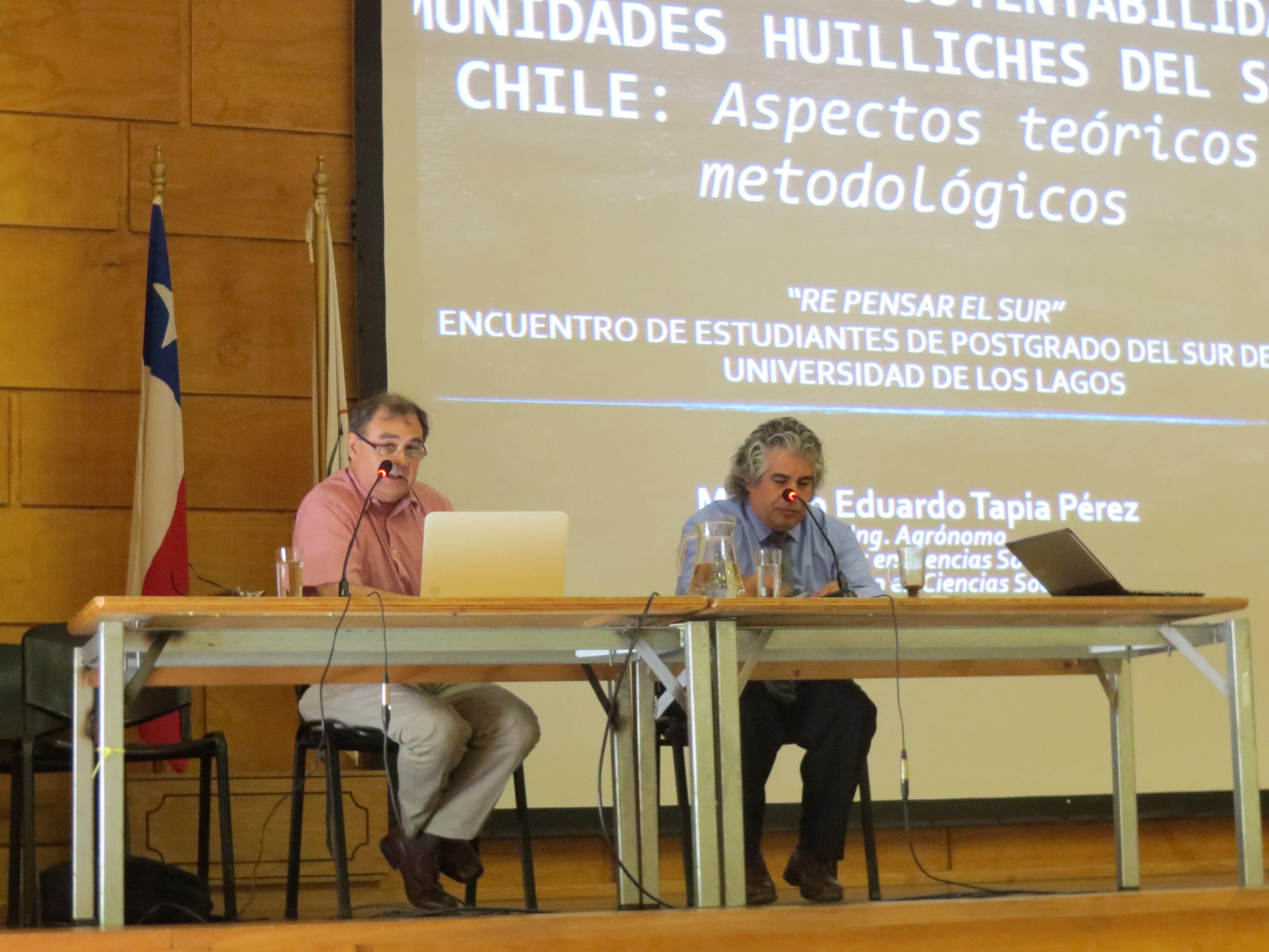 Expositor Marcelo Tapia